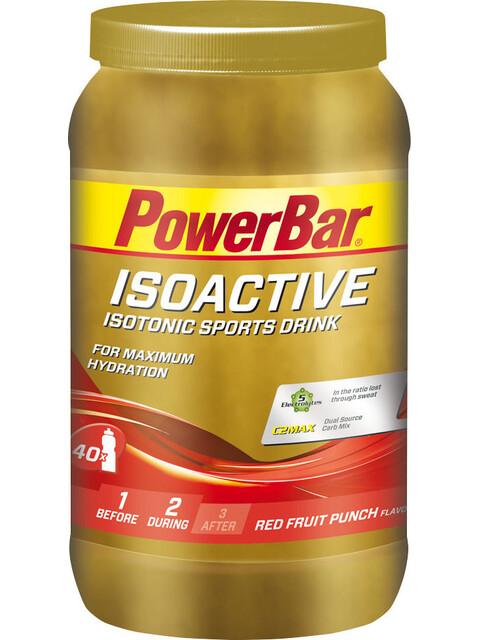 PowerBar Isoactive Sport Ernæring Red Fruit Punch 1320g